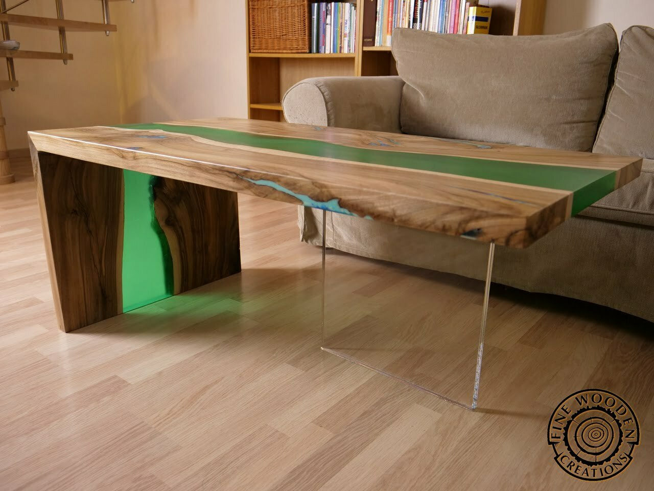 Live edge Green Waterfall river coffee table with  : image20 from finewoodencreations.com size 1280 x 960 jpeg 486kB