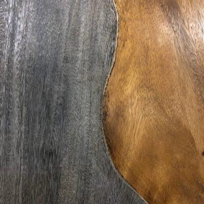 Blat z drewna suar Bicolour