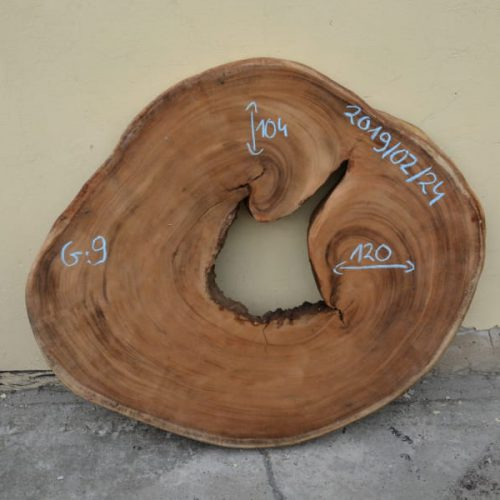 Blat z drewna egzotycznego suar