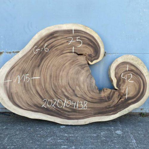 Blat z egzotycznego drewna suar