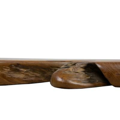 Stolik kawowy z drewna tekowego